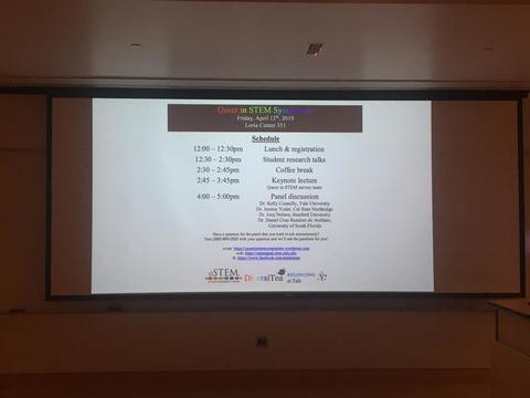 Image of Queer in STEM Symposium 2019 Schedule